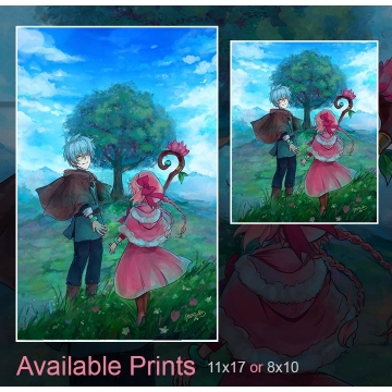 MMO Anime Print or Poster