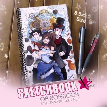 Legend of Korra Sketchbook or Notebook Journal