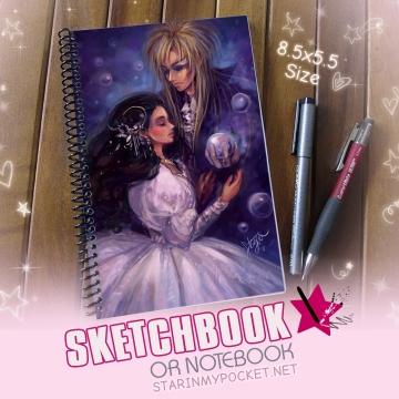 Labyrinth Sketchbook or Notebook Journal